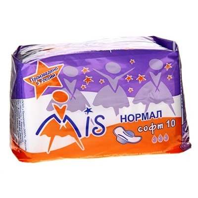 "Прокладки ""Mis"" Normal Soft, 10 шт"