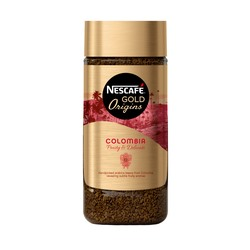 Растворимый кофе, Nescafe Gold Origins Colombia, 100 г.