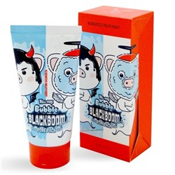 Elizavecca Hell-Pore Bubble Blackboom Pore Pack Маска для лица Чёрная кислородная, 150мл