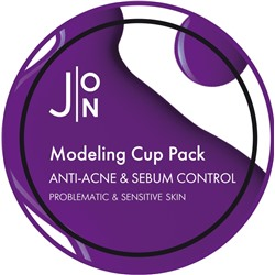 [J:ON] Альгинатная маска АНТИ-АКНЕ И СЕБУМ КОНТРОЛЬ ANTI-ACNE & SEBUM CONTROL MODELING PACK